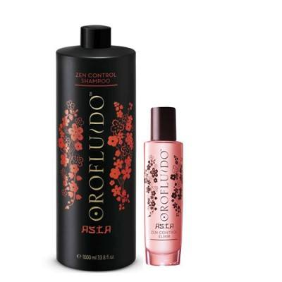 Asia Zen Control Shampoo (1000ml) + gratis Elixier
