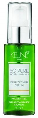 So Pure Defrizz Shine Serum (50ml)
