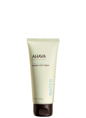 AHAVA Dead Sea Water Mineral Foot Cream (100ml)