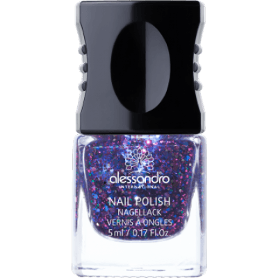 alessandro Nagellack Glam Rock Black Diamond