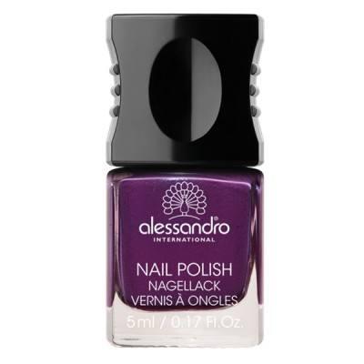 Alessandro Nail Polish CLASSIC STARS Dark Violet (5ml)