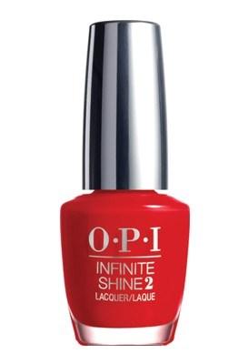 OPI Infinite Shine 2 - Unequivocally Crimson