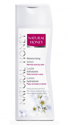 Natural Honey Body Lotion normale Haut (400ml)