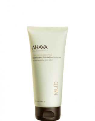 AHAVA Dead Sea Mud Dermud Nourishing Body Cream (200ml)