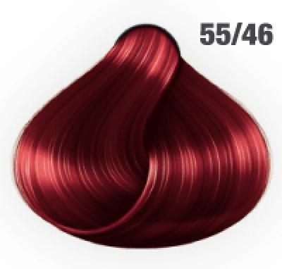Silky Shine 55/46 Hellbraun Intensiv Rot-Violett