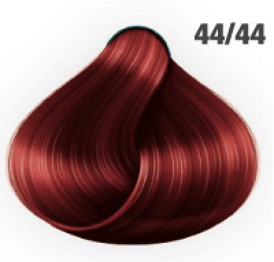 Silky Shine 44/44 Mittelbraun Intensiv Rot-Intensiv