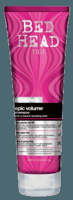 Bed Head Styleshots Epic Volume Shampoo (250ml)