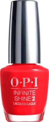 OPI Infinite Shine 2 - Unrepentantly Red
