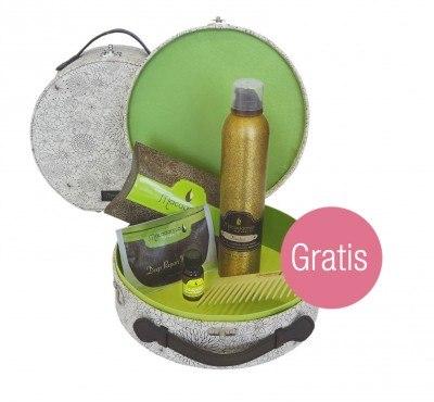 Macadmia Flawless & Mini-Pflege Set im Beautycase + gratis-Healing Oil Infused Comb