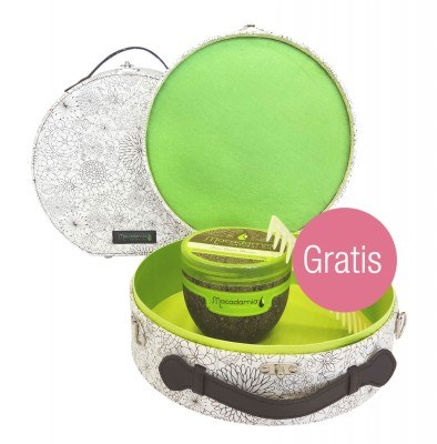 Macadamia Set Maske & Beautycase + gratis Healing Oil Infused Comb