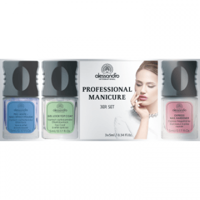 Alessandro Professional Manicure Kennenlern-Set (3x5ml)