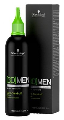 [3D] MEN Anti-Dandruff Tonic (150ml)