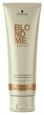 BLONDME Color Enhancing Shampoo Rich Caramel (250 ml)