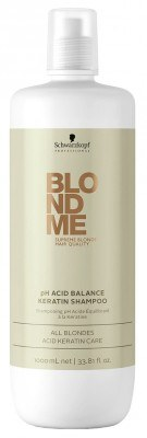 BLONDME Keratin Restore Shampoo (1000 ml)