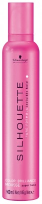 Silhouette Color Brilliance Mousse (500ml)