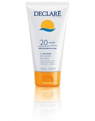 Declaré sun sensitive anti-wrinkle sun lotion SPF 20 (150ml)