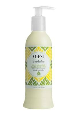 OPI Avojuice Hand & Bodylotion sweet lemon sage (250ml)